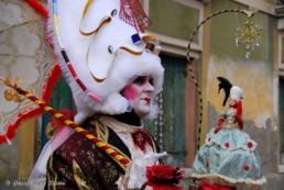 Il Sarto di Versailles. Venezia 2009. 2° Premio Concorso per la maschera più bella del carnevale