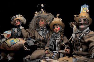 I bagnanti di Senigallia. Venezia 2016. 1° premio concorso per la maschera più bella del carnevale