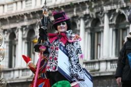 Viaggio sull'Orient Express. Venezia 2007. 2° Premio Concorso per la maschera più bella del carnevale con Alena Seredova