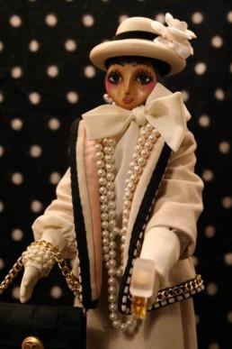 Omaggio a Coco - La bambola in legno