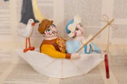 """Barchette in terracotta - """"Famigliando"""""""