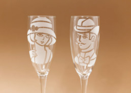 Bicchiere uomo 22x5,5cm