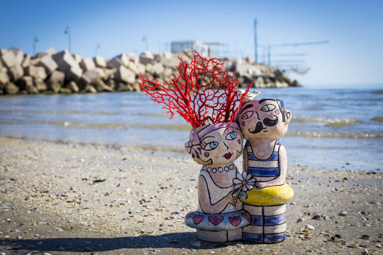Innamorati in riva al mare - Marconilandia